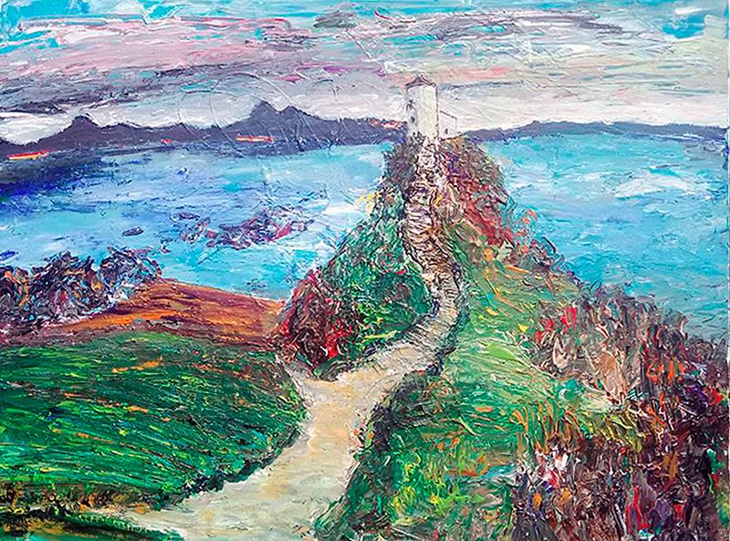 Coastal Path II - with Lighthouse