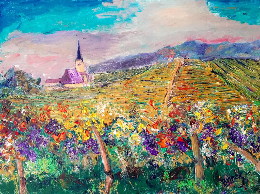 Weinberge im Süden von Wien